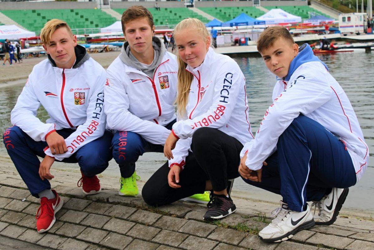 Kanoista Večerka bronzový na regatě Olympijských nadějí