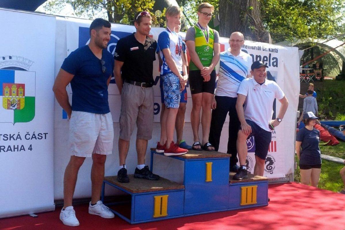 Gabča Hermély pozlatila oba své starty na MČR v Praze